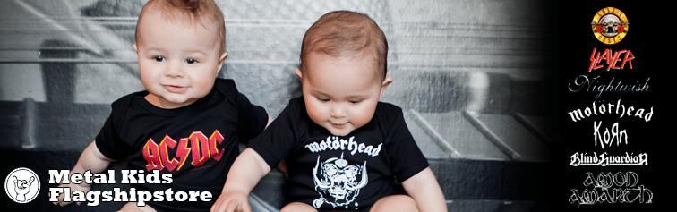 Metal-babytøj