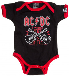 AC/DC-body til baby – Rock 'n Roll | Baby Rock-bodyer