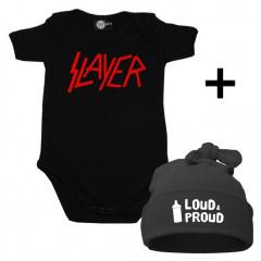 Gavesæt Slayer-body & Loud & Proud Kasket