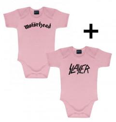 Gavesæt Motörhead-body & Slayer-body Pink