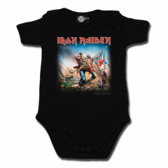 Iron Maiden-babybody – Trooper |  Metal-babytøj