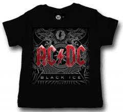 AC/DC T-shirt til baby | Black Ice