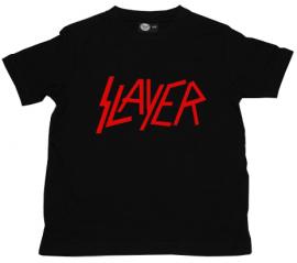 Slayer T-shirt til børn | Logo Red
