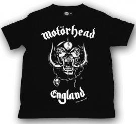 Motörhead T-shirt til børn | England