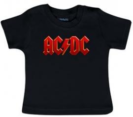 AC/DC T-shirt til baby | Logo Colour