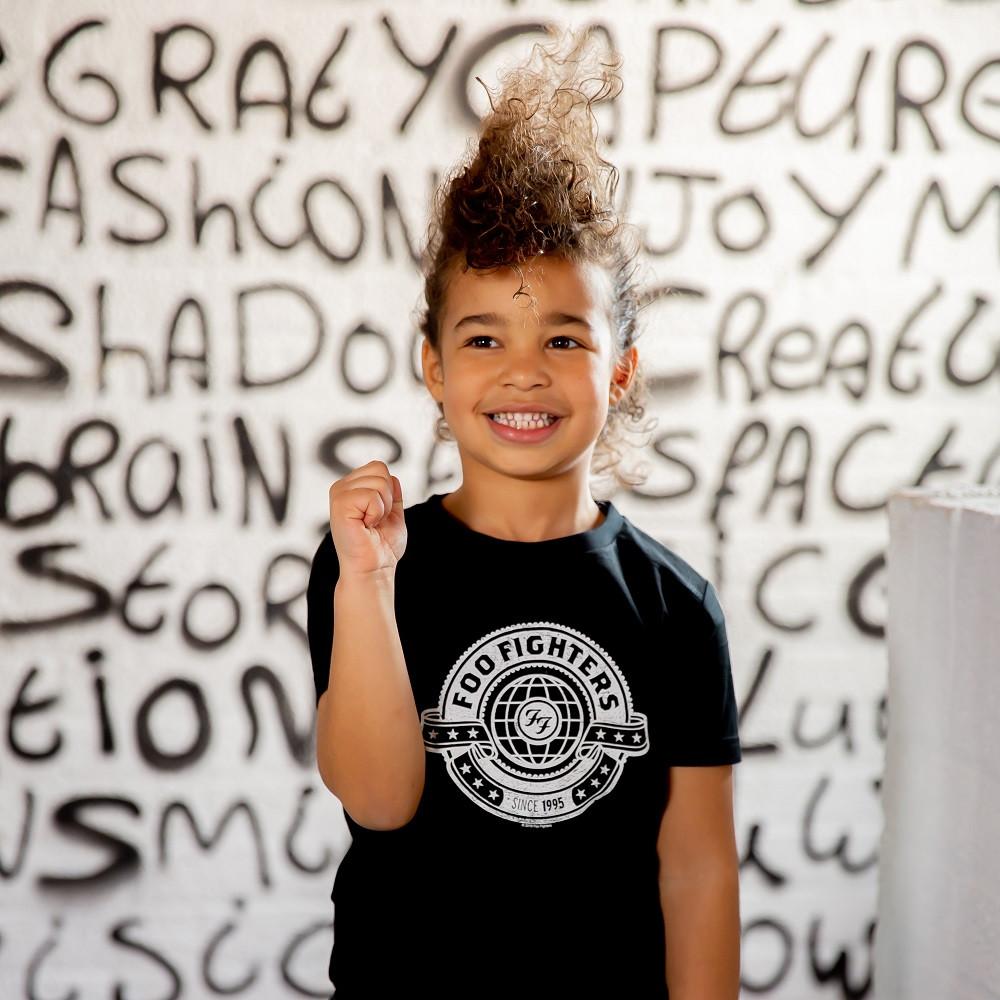Foo Fighters T-shirt til børn fotoshoot