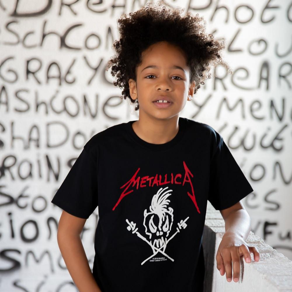 Metallica T-shirt til børn | Scary Guy fotoshoot