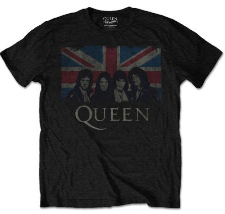 Queen T-shirt til børn |England Flag