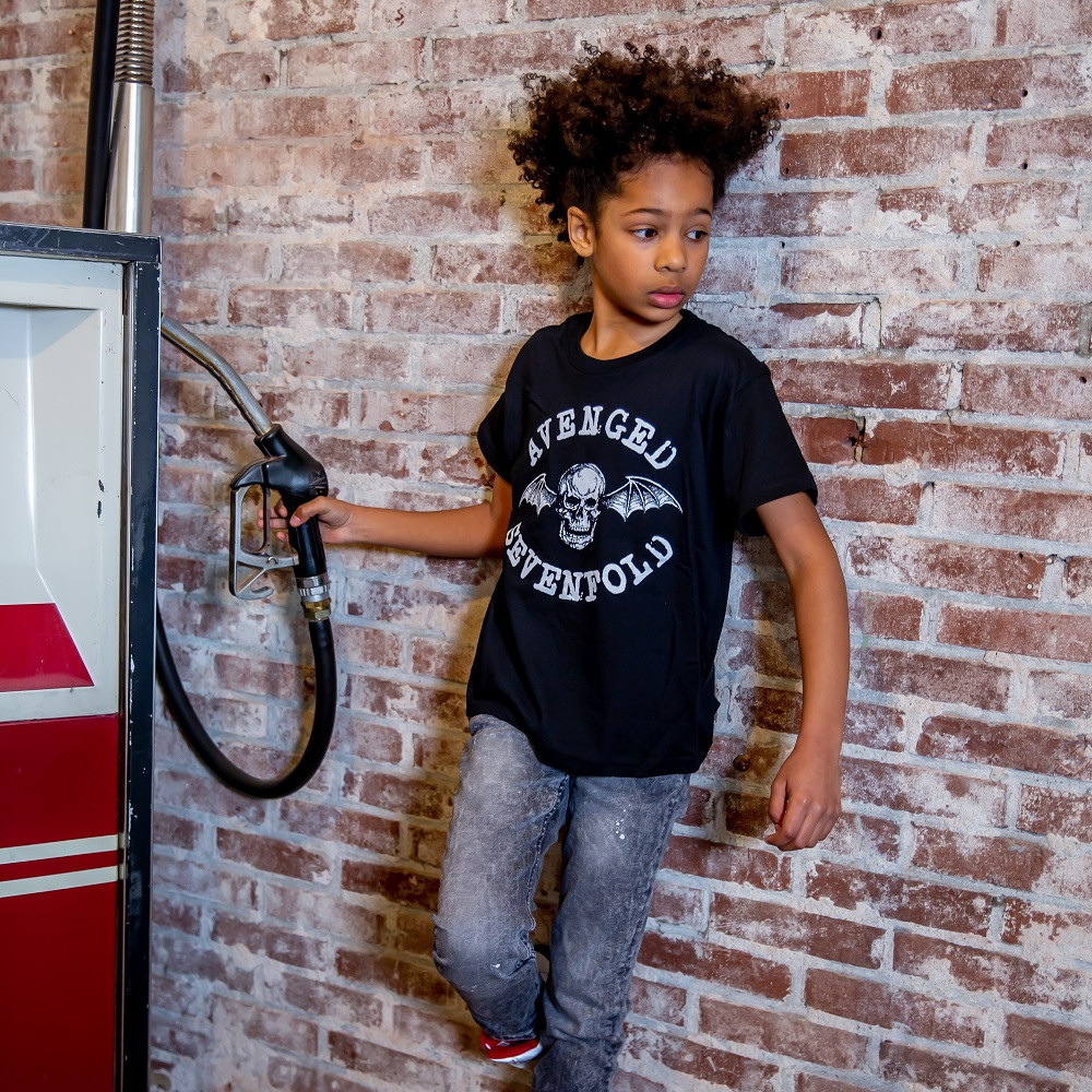 Avenged Sevenfold-børnetøj til din fotoshoot