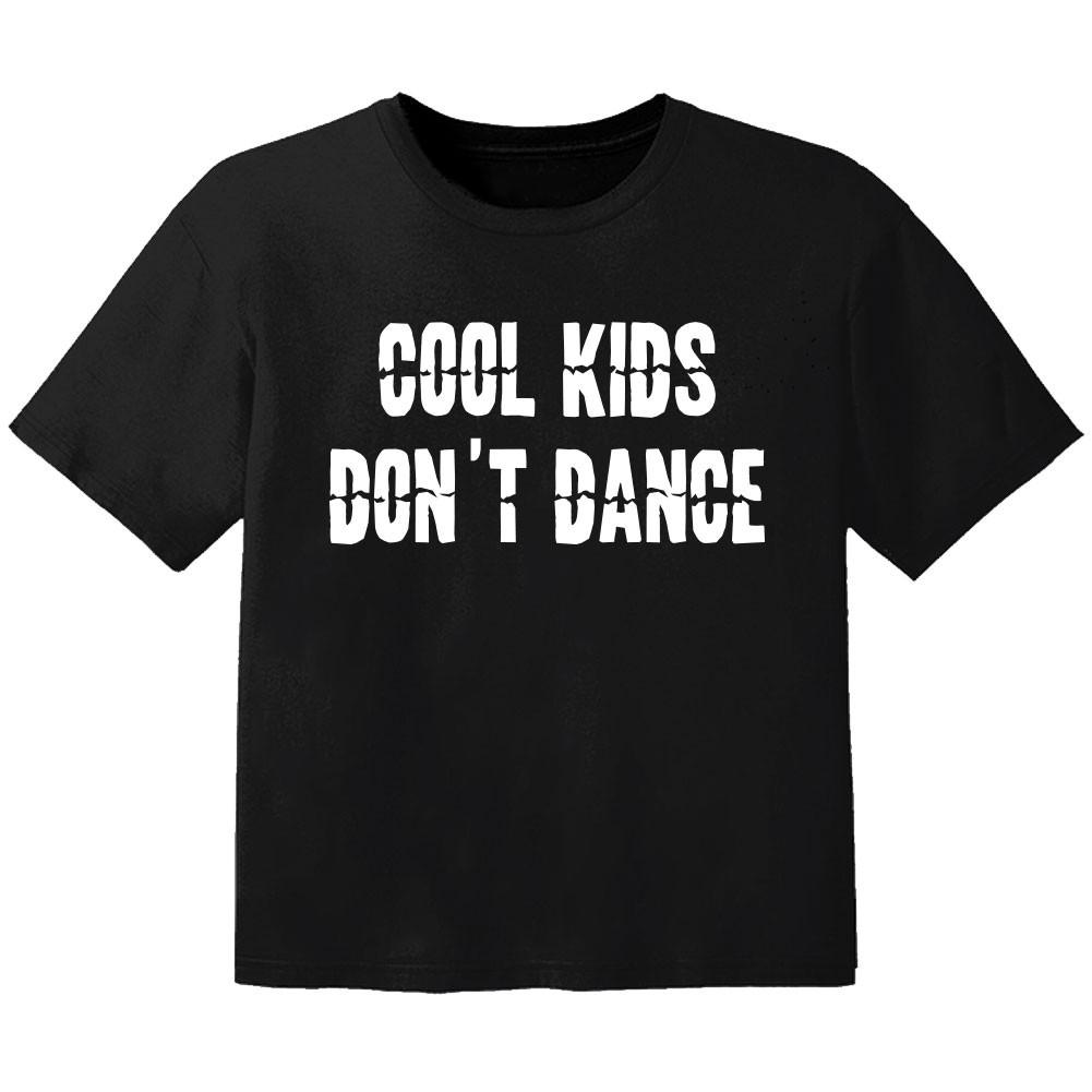 Cool T-shirt til børn cool Kinder don't dance