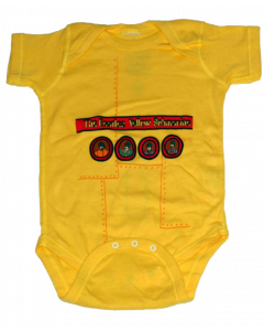Beatles Yellow Submarine-body til baby