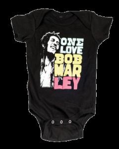 Bob Marley-body – Smile Love | Bob Marley-babytøj