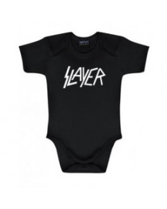 Slayer Logo-body til baby White | Baby-metal
