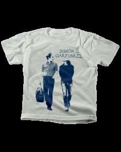 Simon and Garfunkel T-shirt til børn   Walking