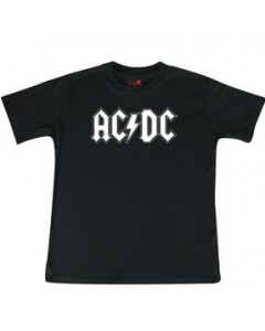 AC/DC T-shirt til børn | Logo White