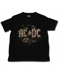 AC/DC T-shirt til børn | Rock or Bust