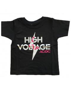 AC/DC T-shirt til børn | High Voltage