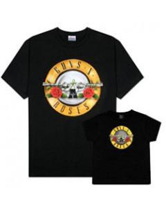 Duo-rocksæt | Guns 'n Roses Far T-shirt & T-shirt til børn