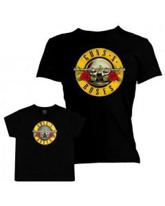 Duo-rocksæt | Guns N' Roses Mors T-shirt & T-shirt til børn