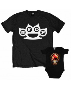 Duo-rocksæt | Five Finger Death Punch Far T-Shirt & babybody