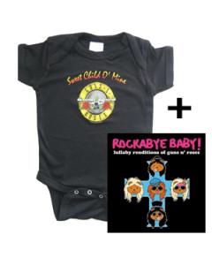 Gavesæt Guns n' Roses-babybody & Rockabyebaby-cd