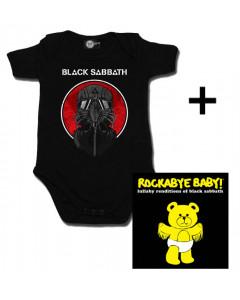 Gavesæt Black Sabbath-babybody & Black Sabbath Rockabyebaby-cd
