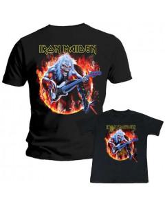 Duo-rocksæt | Iron Maiden Far T-shirt & T-shirt til børn