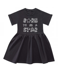 Born to be a star-kjole til baby