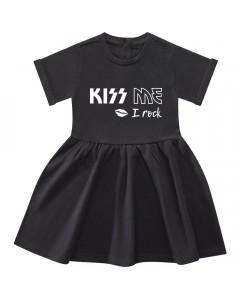 Kiss me I rock-kjole til baby