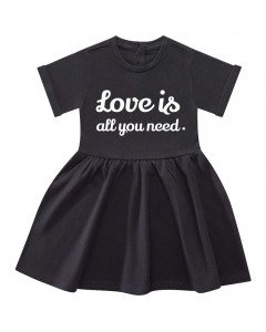Love is all you need-kjole til baby