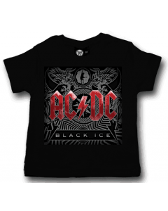 AC/DC T-shirt til baby | Black Ice
