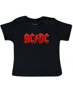 AC/DC T-shirt til baby | Logo Colour