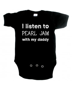 rock body til babyer I listen to Pearl Jam with my Daddy