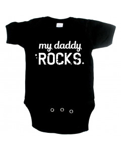 body til babyer Cool my Daddy Rocks
