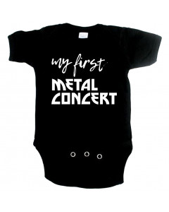 metal body til babyer my first Metal concert