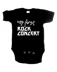 rock body til babyer my first Rock concert