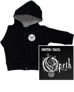 Opeth Kids-hættetrøje med lynlås (Print on Demand)