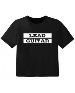 Rock T-shirt til børn lead guitar