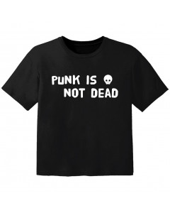 Punk T-shirt til børn Punk is not dead