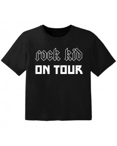 Rock T-shirt til børn Rock kid on tour