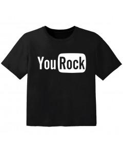 Rock T-shirt til børn you Rock