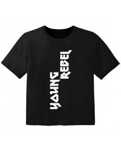 Rock T-shirt til børn young rebel