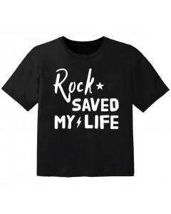Rock-T-shirt-til-børn-Rock-saved-my-life.html