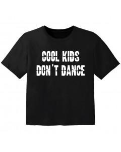 Rock T-shirt til børn cool Kids don't dance