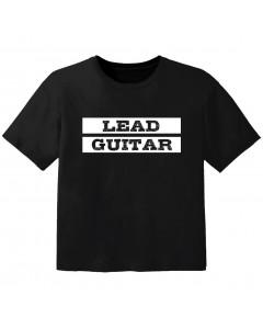 Rock T-shirt til børn lead guitar
