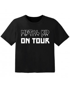 Metal T-shirt til børn Metal kid on tour
