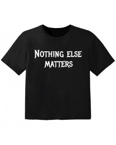 Metal T-shirt til børn nothing else matters