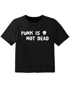 Rock T-shirt til børn Punk is not dead