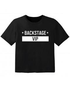 Cool T-shirt til børn backstage VIP