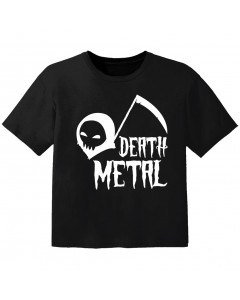 Metal T-shirt til børn death Metal